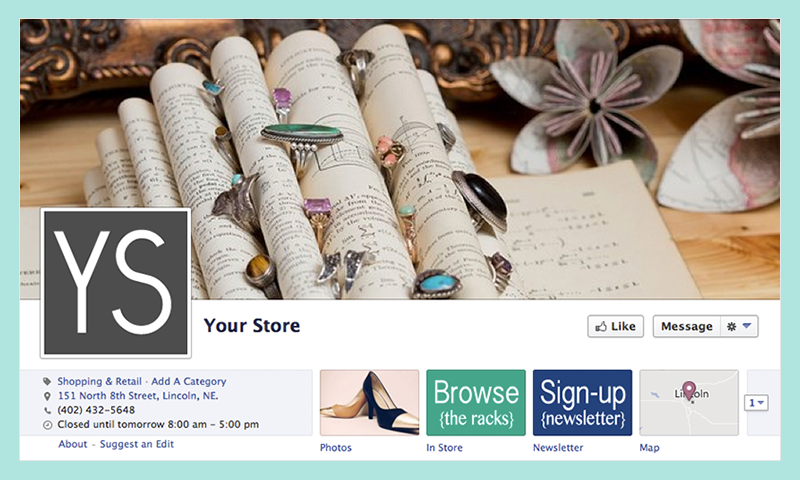 make your Facebook page pretty