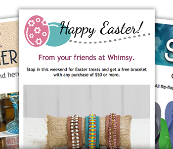 new email header graphics for summer easter and april fools day 2014 feature