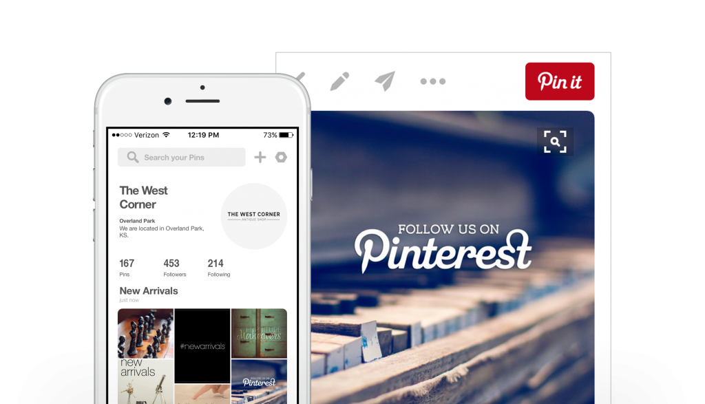 scheduling pinterest pins saves time with boutique window