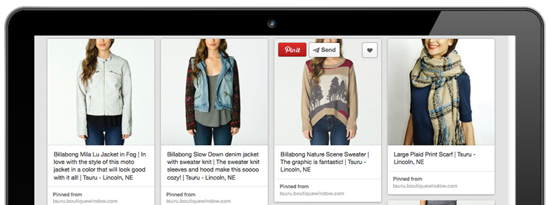 pinterest made simple with boutique window