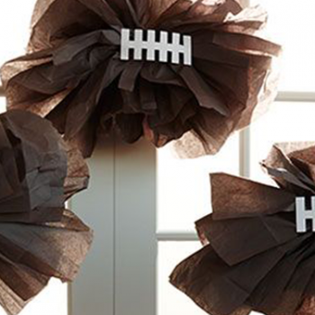 game day inspired displays 2014