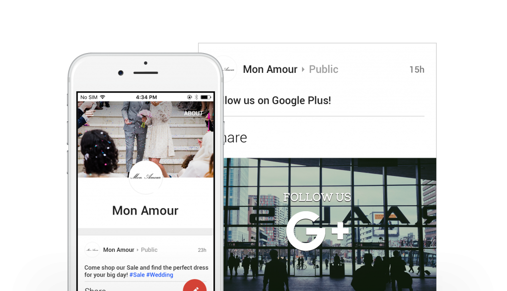 scheduling google+ posts saves time with boutique window
